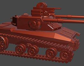 3D print model Tank futuristic