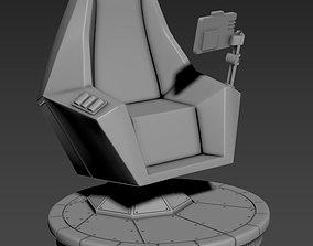 Grand Admiral Thrawn Command Chair - 3d print STL
