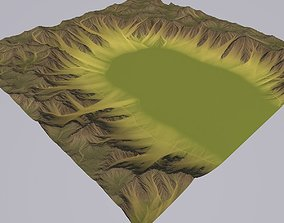 Lowpoly Valley MTH062 3D model