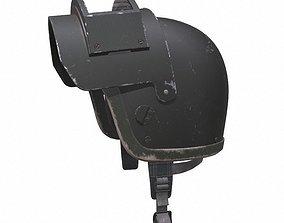 3D model game-ready Millitary combat helmet k6