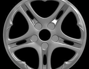 3D Car rim 4
