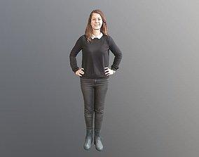 No86 - Cool Girl Standing 3D model