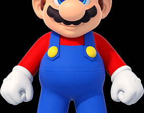 3D printable model Super Mario character