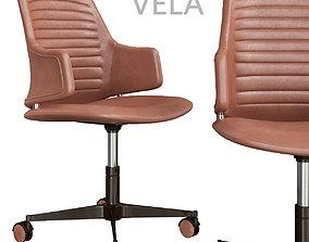 low-poly Reflex VELA Armchair 3d model