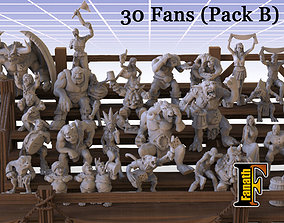 3D printable model Fans pack B