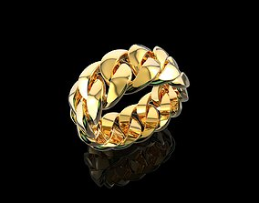 jewelry 3D printable model Gold N785