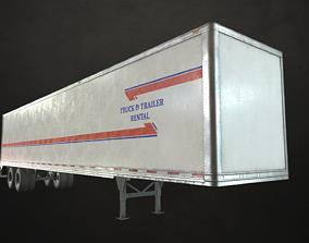 3D model Dry Van Trailer