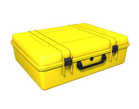 3D model Plastic protective suitcase or hard case for 3
