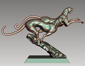 Running Cheetahs 3D printable model