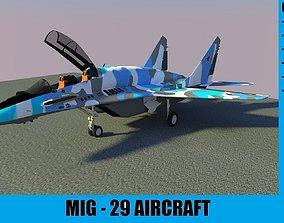 MIG - 29 AIRCRAFT 3D