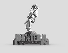 figurines DIMEBAG DARRELL PANTERA - 3DPRINTING