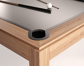Modern Pool Table 3D model
