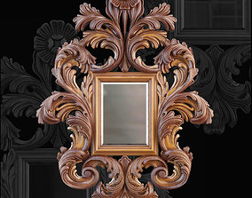 Jumbo Collection Mirror decoration 3D model