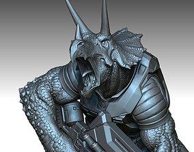 3D printable model TRICERATON MOZAR