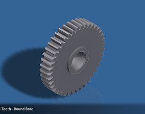 40-Tooth Spur Gear 03 3D printable model