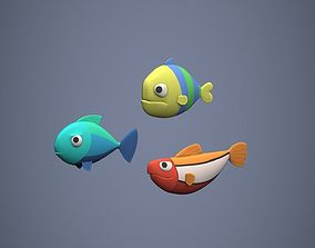 Fish Stylized 3D asset