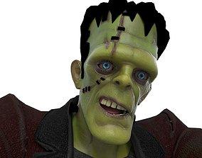 3D model animated Frankenstein