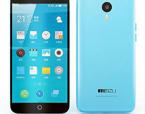 Meizu Note 1 Blue 3D