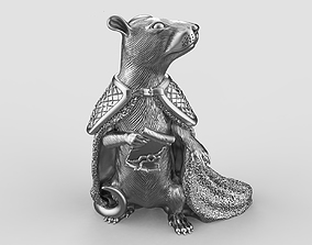 3D printable model statue S002