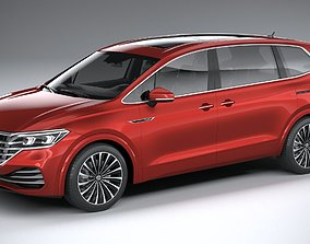 3D Volkswagen Viloran 2020