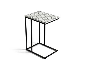 Cowell C Table End Table 3D model
