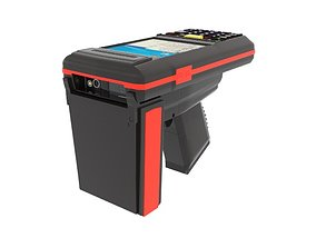 3D Hand held RFID AB reader