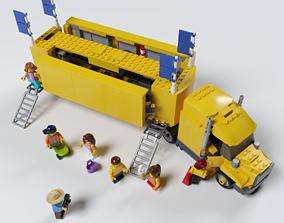 3D model LEGO TRUCK