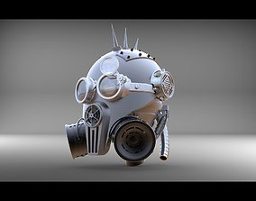 3D print model steam head
