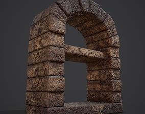 3D asset Medieval Bakers Oven