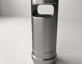 3D Trashcan trash-can