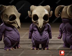 3D printable model little creature 1