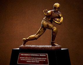 3D asset Heisman Trophy