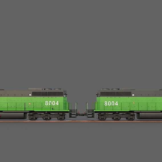 Locomotive EMD SD40-2 Burlington Northern