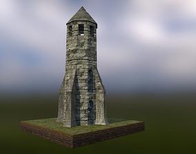 Medieval Lighthouse 3D asset