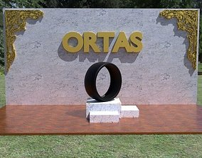 ORTAS TIRE NO 28 GAME READY 3D asset