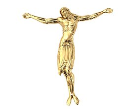 jesus pendant collection 4in1 3D printable model
