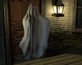 Classic Spooky Sheet Ghost 3D model