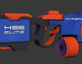 Low Poly Hyperfire Gun 3D model