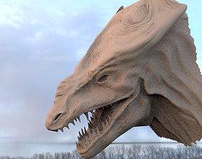 3D Croc head rough base