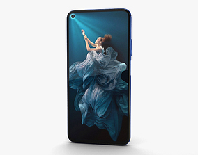 Honor 20 Sapphire Blue 3D