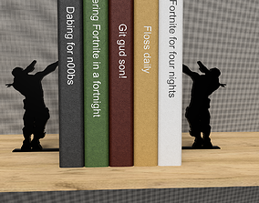 3D printable model Fortnite book stand - dabing all the 1