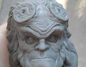 Hellboy Character Head 3D printable model