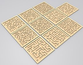 The Mazes 3D model