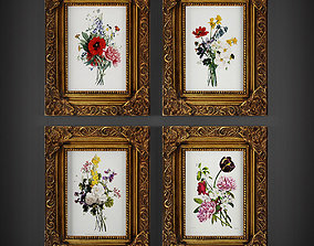painting 3D model Picture Frames