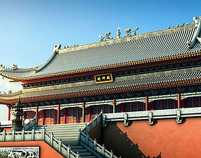 Ancient Chinese Palace Group 3D model