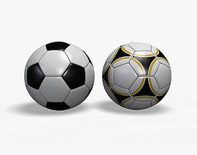 3D model Soccer Balls