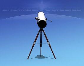 12 In Reflector Telescope 3D