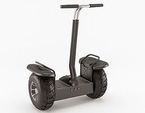 3D Off-road self-balancing scooter