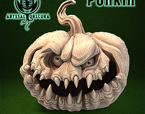 Punkin - Pumpkin Halloween Jack o 3D printable model 1