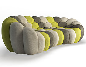Bubble Sofa 3 Seats Roche Bobois 3D